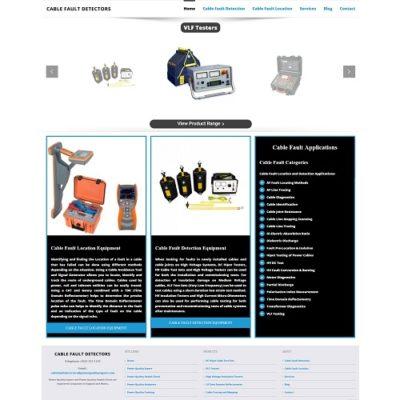 New Cable Fault Detectors Website