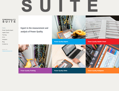 Power Quality Suite showcase for Power Quality Expert product and services
