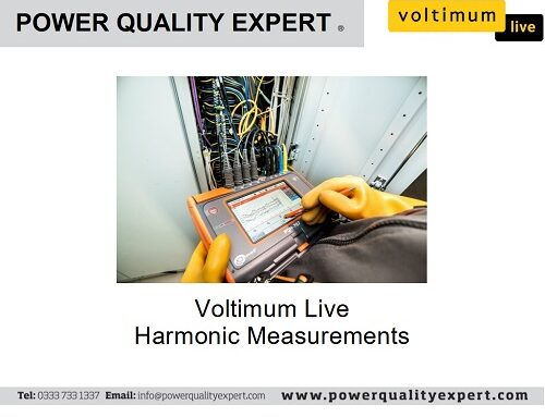 Voltimum Live with Power Quality Expert – Harmonic Measurements Power Quality Expert Webinar
